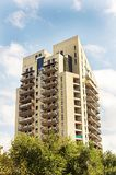 High-rise building. High-rise residential building in Yerevan, Armenia stock photography