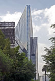 High rise building in Mexico City. Modern glass-walled high rise building in Mexico City Stock Photography