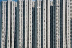 High rise building near the sea. In Hongkong Royalty Free Stock Photo