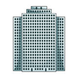 High-rise building, skyscraper,Realtor single icon in cartoon style vector symbol stock illustration web. royalty free illustration