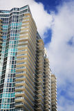 High Rise Building on South Beach Royalty Free Stock Images