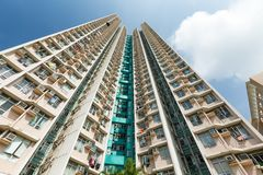 High rise building to the sky Royalty Free Stock Photography