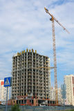 High building under construction Stock Photos