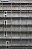 High rise building under construction Royalty Free Stock Photos