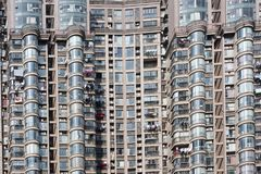 High rise building. The high-rise building window, row upon row of stock photography