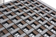 High rise building windows in Japan Royalty Free Stock Images