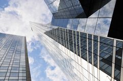 High-rise buildings Royalty Free Stock Photography