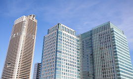 High - rise buildings Royalty Free Stock Photos