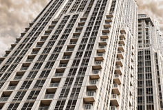 High rise buildings. Downtown toronto royalty free stock image