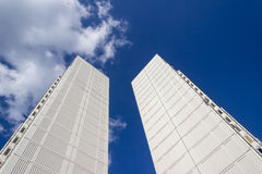 High-rise buildings, architecture Royalty Free Stock Photo