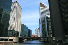 The high-rise buildings in Chicago Royalty Free Stock Image