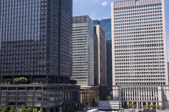 High rise buildings Royalty Free Stock Photos