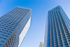 The high-rise buildings in downtown Miami Florida Stock Photography