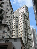 High Rise Buildings in Hong Kong Stock Photos