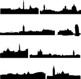 The high-rise buildings in Italian Stock Photos