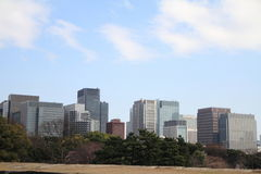 High rise buildings in Marunouchi Stock Image