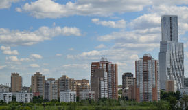 High-rise buildings in the metropolis Stock Images