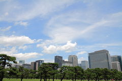 High rise buildings in Murunouchi Royalty Free Stock Photo