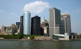 High-rise buildings in NYC Royalty Free Stock Photography