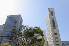 High-rise buildings at Shinjuku, Tokyo, Japan Royalty Free Stock Photo