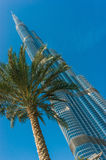 High rise buildings and streets in Dubai, UAE Stock Photography