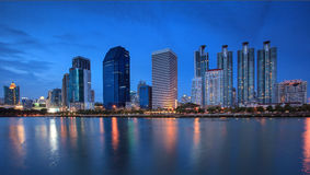 The high-rise buildings in Thailand Stock Images