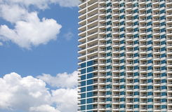 The high-rise buildings Royalty Free Stock Image