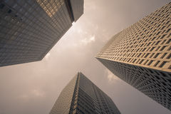 High rise business office building Royalty Free Stock Photos