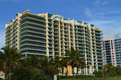 High rise complex, Miami Beach, Florida Royalty Free Stock Images
