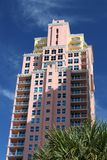 High Rise Condo. Modern high rise condo in sunny south Florida Royalty Free Stock Image