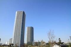 High rise condominium in Futagotamagawa Stock Photos