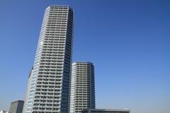 High rise condominium in Futagotamagawa Royalty Free Stock Image