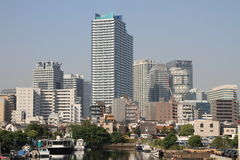 High-rise condominium in Yokohama Minatomirai 21 Stock Image
