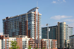 High rise condominiums or partments Stock Photos