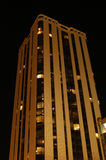 High Rise Condos. High rise condominium building at night Royalty Free Stock Photo