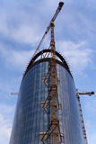 High rise construction stock image