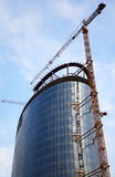 High rise construction royalty free stock photos