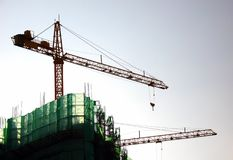 High Rise Construction stock photography