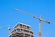 High-rise construction Stock Images