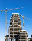 High-rise construction Royalty Free Stock Photos