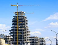 High-rise Construction Royalty Free Stock Image
