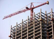 High-Rise Construction Royalty Free Stock Photography