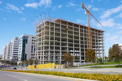 High rise construction Stock Photos