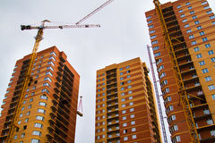 High rise construction Royalty Free Stock Photos