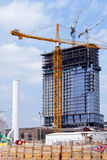 High rise construction project Royalty Free Stock Image