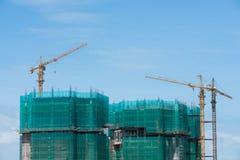 High rise construction Stock Photos
