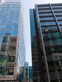 High rise corporate office buildings. Stock Photo