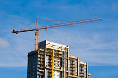 High Rise Crane Stock Images
