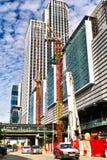 High-rise de bouw Stock Afbeelding