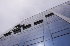 High-rise de bouw van glas Stock Fotografie